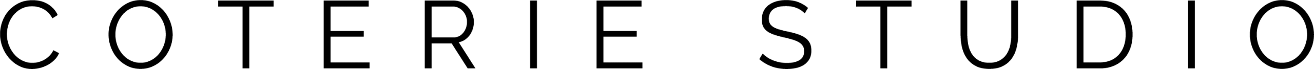 Logotipo Coterie Studio